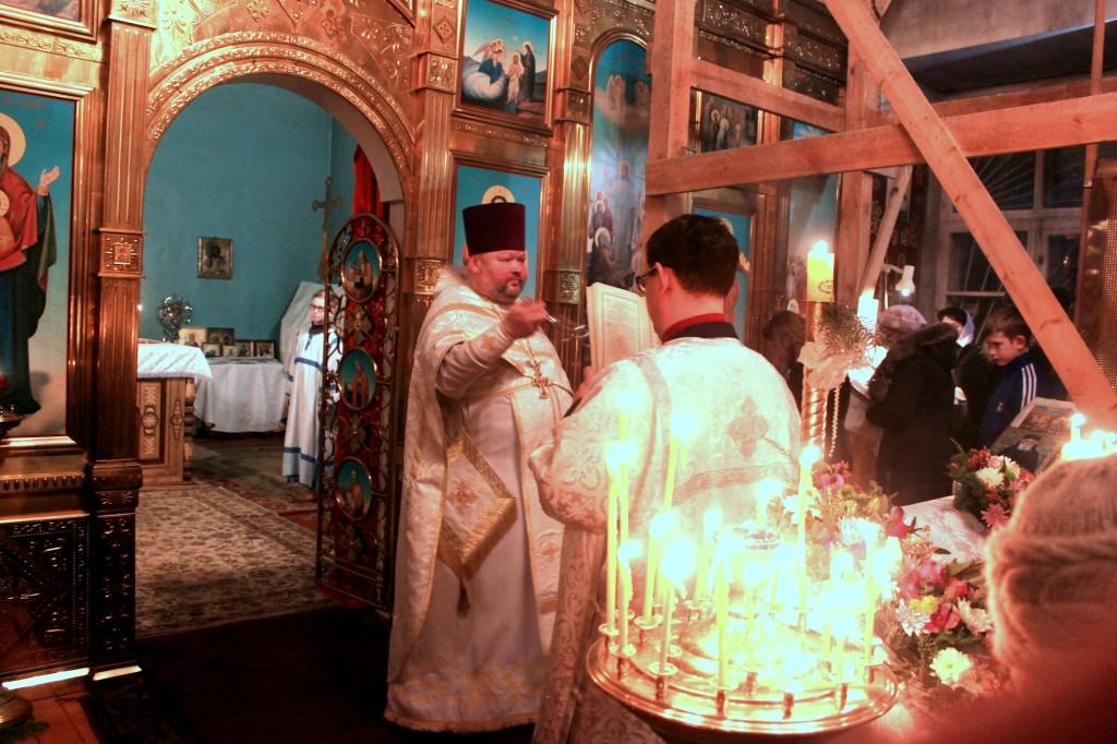 Рождество Христово на приходе Знаменского храма села Непецино