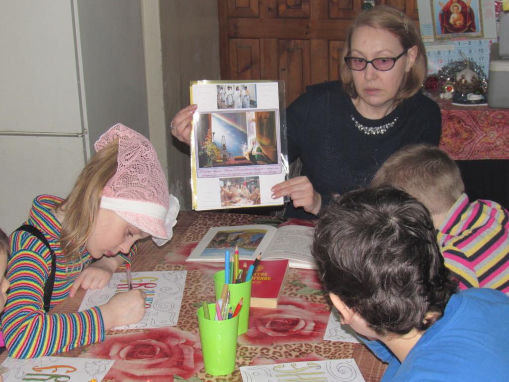 День православной книги на приходе Знаменского храма села Непецино