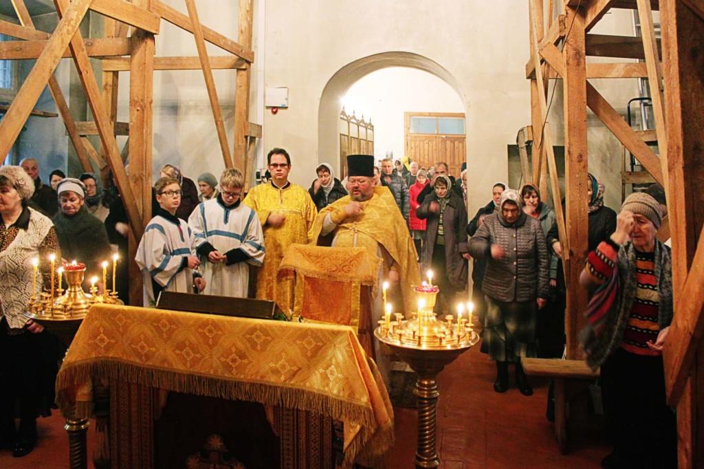 Новолетие на приходе Знаменского храма села Непецино